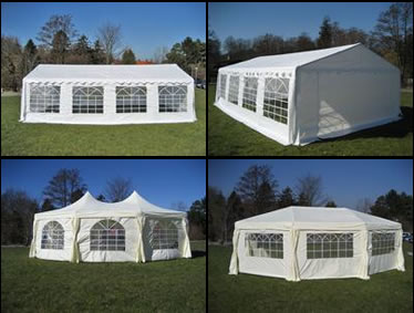 Marquee for wedding, celebration, reception and party